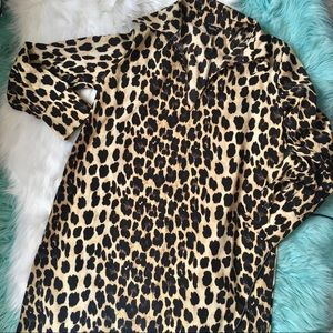 Dresses & Skirts - Retro Style Animal Print Shift Dress